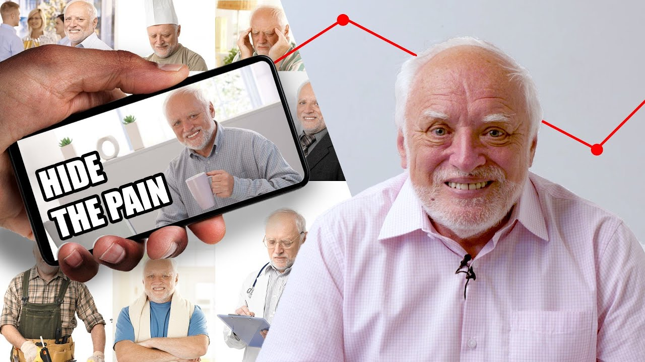 I Accidentally Became A Meme Hide The Pain Harold Youtube