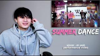 WINNER - 'AH YEAH (아예)' PERFORMANCE Mp3 Reaction