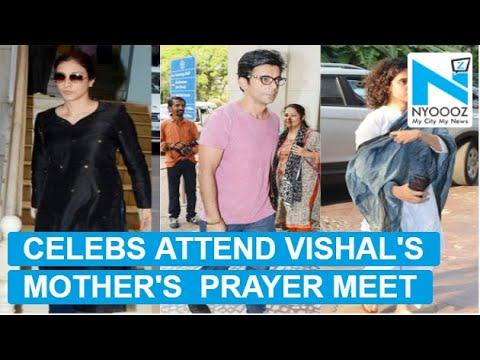 Tabu, Imtiaz Ali and others attend filmmaker Vishal Bhardwaj's mother prayer meet