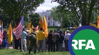 Biểu tình chống TT Nguyễn Xuân Phúc tại Washington | PHÓNG SỰ | RFA Vietnamese News