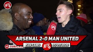 Arsenal 2-0 Man United | Despite Not Scoring Lacazette Brings So Much To This Team!