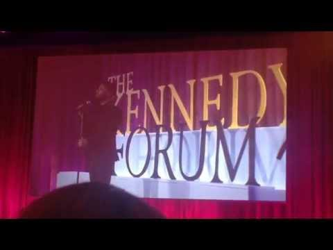 "Jussie Smollett of Empire premieres ""Chasing the Sky"" at the Kennedy Forum Illinois"