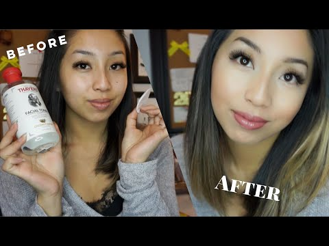 10 Minute Everyday Work Makeup & Morning Skincare | @ohdangdanii