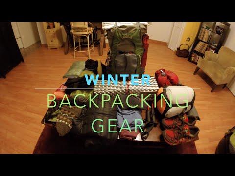 Winter Backpacking Gear Loadout