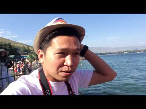 TRAVEL TO ARMENIA video 14 LAKE SEVAN second Biggest Lake in the World