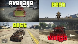 GTA Online Ranking All The Arena Vehicles From Worst To Best