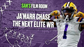 Ja'Marr Chase is the best wide receiver in the 2021 NFL Draft | Film Room