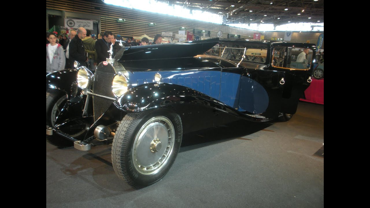 bugatti royale type 41 coup napol on du patron 1928 lyon voiture la plus cher au monde youtube. Black Bedroom Furniture Sets. Home Design Ideas