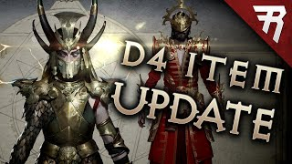 Diablo 4 News Update: Dev Responds to Item Issues