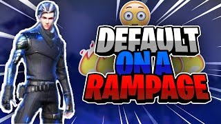 DEFAULTS GOES ON A RAMPAGE