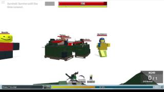 roblox-R2DA Rank 25 M249 gameplay