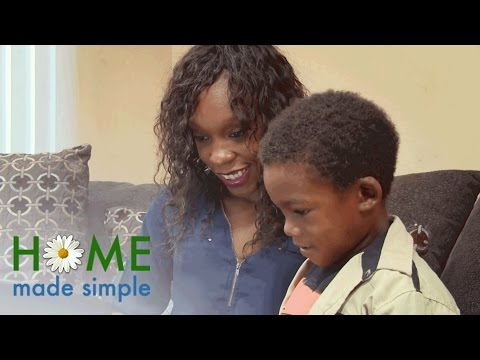 Jeremiah Brent Gives a Single Mom a Much Needed Living Room Upgrade | Home Made Simple | OWN