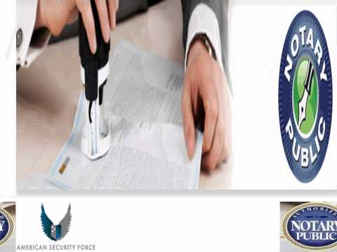 Notary Public Services in California by www.notarypublic