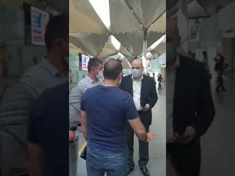 Перед вылетом рейса Петербург-Ереван 27 мая 2020 г.