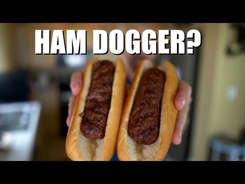 Ham Dogger Review: Hot Dog Shaped Hamburgers?