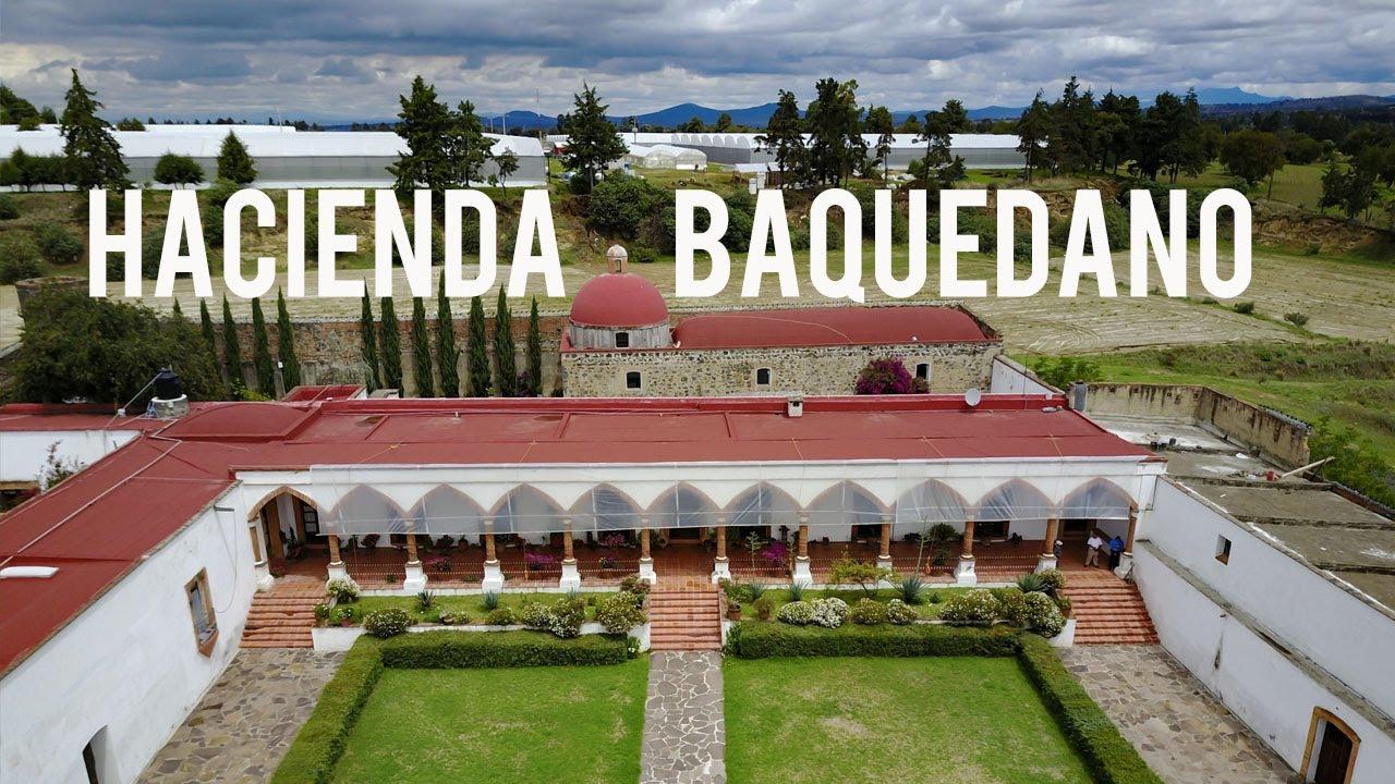 Hacienda San Diego Baquedano en Terrenate Tlaxcala, la ruta de haciendas |  El Andariego - YouTube