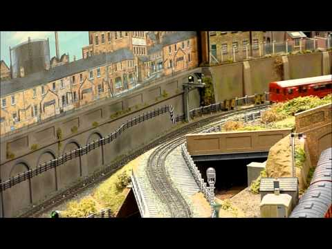 Horn Lane (Underground), 'OO' Gauge Model Railway Layout.