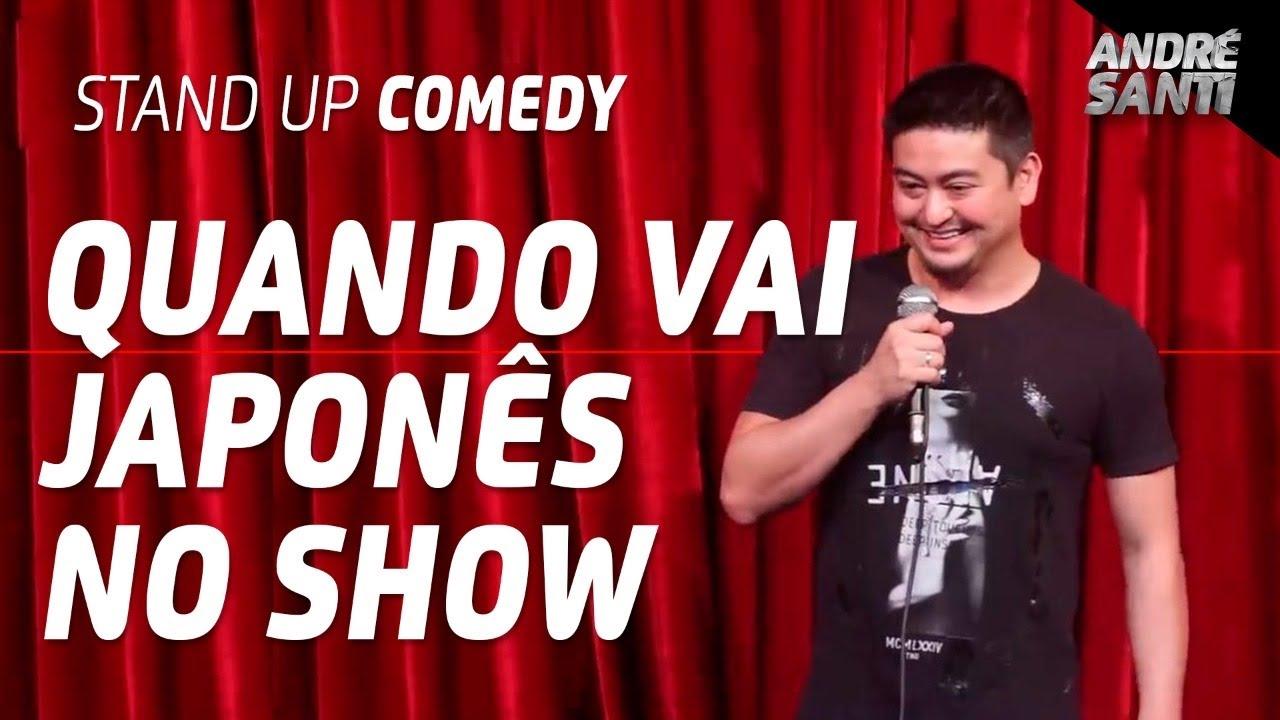 TODAS AS VEZES QUE TEVE JAPONÊS NO SHOW (Compilado) | André Santi | Stand Up Comedy