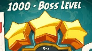 Angry Birds 2 Special Boss Battle 1000 Level