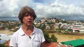 Annemarie Huber-Hotz in Bangladesch