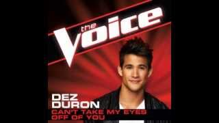 """Dez Duron: """"Can't Take My Eyes Off You"""" - The Voice (Studio Version)"""
