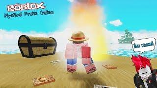 Online game Roblox: ฮึ่ยยยย la Mystical Fruits. New One Piece game descent leet.