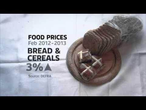 Food Prices Set To Soar After Big Freeze