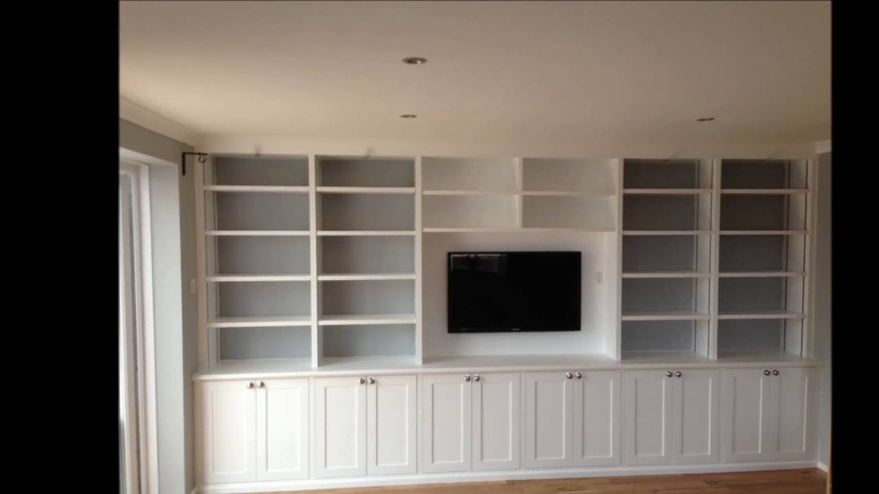 Custom built cabinets with adjustable shelving - U D ...