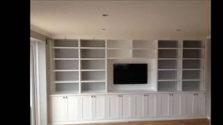 Custom Built Cabinets With Adjustable Shelving - U D Carpentry Cambridge