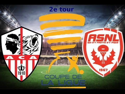 match 2 tour 2 Ajaccio VS Nancy