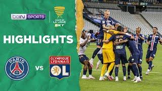 PSG 0-0 (6-5) Lyon | Coupe de la Ligue Match Highlights
