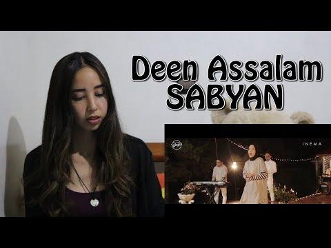 DEEN ASSALAM -  SABYAN ( COVER ) _ REACTION