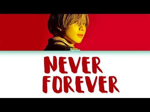 NEVER FOREVER (TRADUÇÃO) - Taemin - LETRAS MUS BR