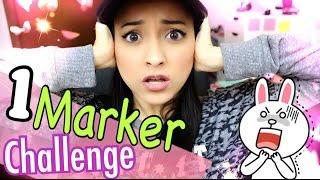 1 MARKER CHALLENGE!!! + CONTEST on Instagram!!