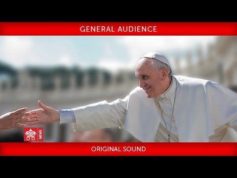 Pope Francis - General Audience 2018-09-05