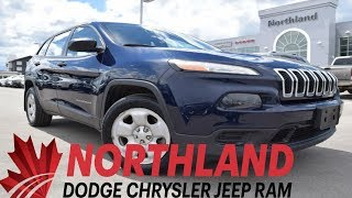Walk Around 2014 Jeep Cherokee Sport | Northland Dodge | Auto Dealership in Prince George BC