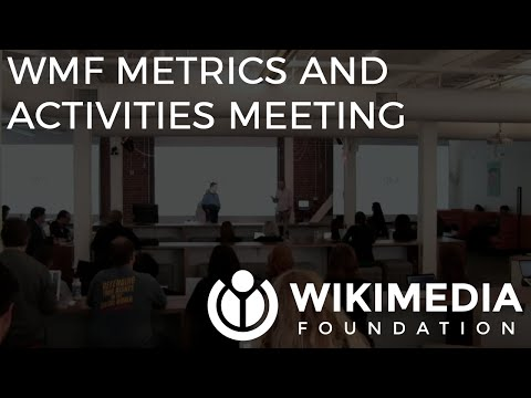 Wikimedia Foundation metrics and activities meeting - May 2016