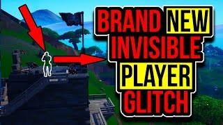 Fortnite invisible player glitch! Fortnite Season 8 Invisible Player Glitch! Fortnite Glitches