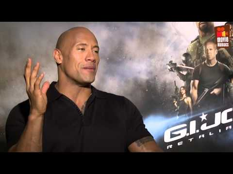 GI Joe 2 | Dwayne Johnson - Roadblock - Interview (2013)