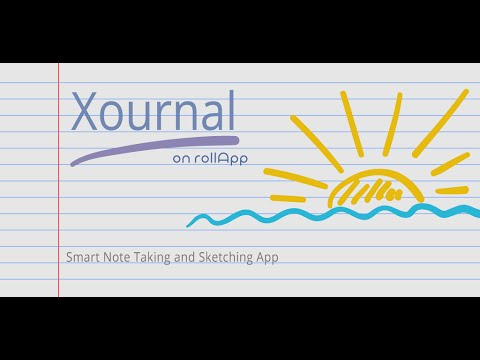 Xournal on rollApp