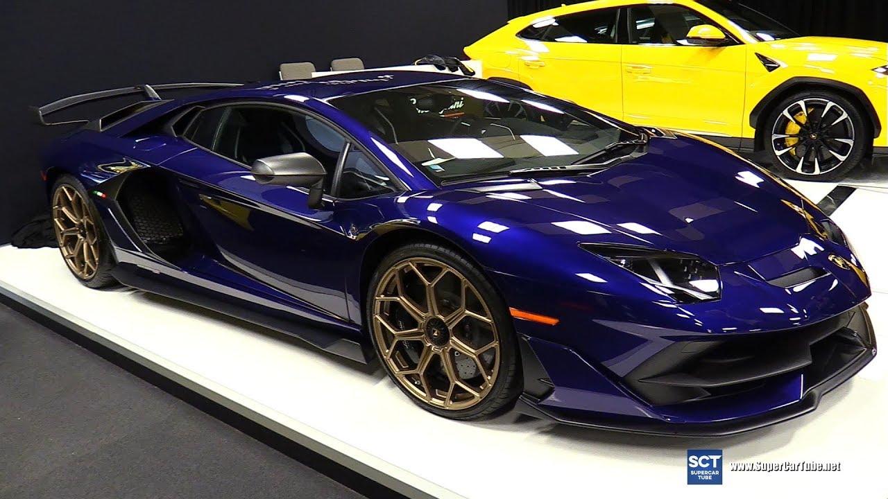 2019 Lamborghini Aventador Svj Super Veloce Exterior Interior