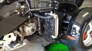 How to change Coolant in Can am Spyder RS