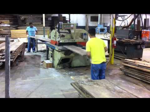 Antique Reclaimed French Oak - Ripping To Width
