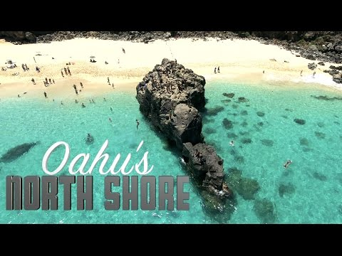 North Shore Oahu Drone Tour in 4K