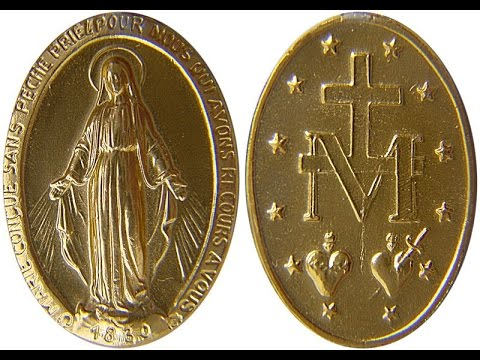 Miraculous Medal - Catherine Labouré