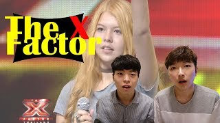 Korean men react [The X Factor Thailand ไหนว่าจะไม่หลอกกัน - ชบา | ]