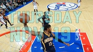 NBA Daily Show: Nov. 19 - The Starters