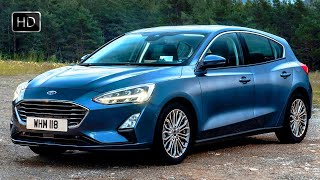 2019 Ford Focus Titanium Hatchback Design Overview & Driving Footage HD