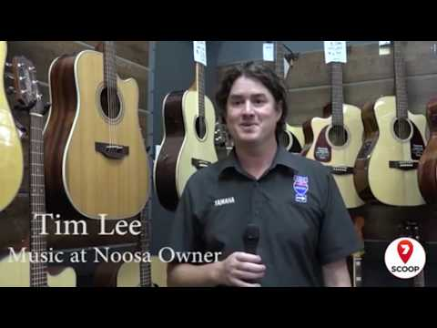 Classic cars and antique guitars take over Music at Noosa