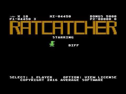 Ratcatcher - game for Atari computers XL/XE